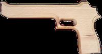 """Пистолет деревянный Магнум """"Игла пустыни"""", 25см, 171915у"""