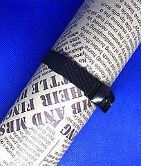 Магнитный ремешок для фитнес-браслета Xiaomi Mi Band 4 Плетение - Миланская петля (milanese loop)