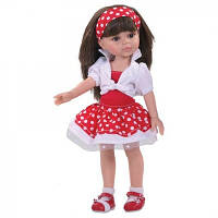 Кукла Paola Reina Кэрол в красном 32см