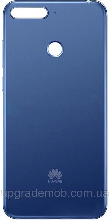 Задняя крышка Huawei Y6 Prime 2018 синяя оригинал