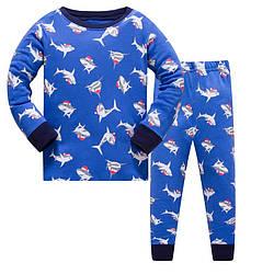 Пижама для мальчика Shark Baobaby (120)