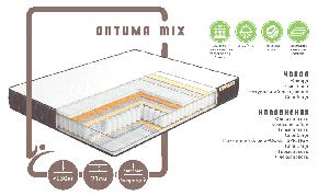 Ортопедический матрас Оптима mix/ Оптима Микс пружинный ( независимая пружина - покет)