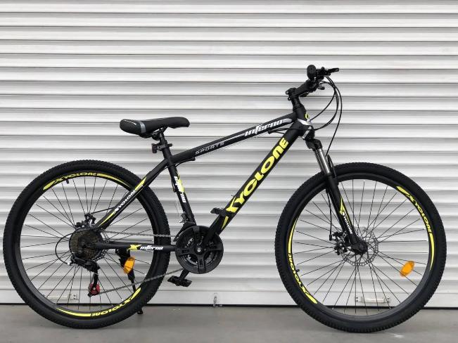 """Горный Велосипед TopRider 26 дюймов""""801"""" желтый"""