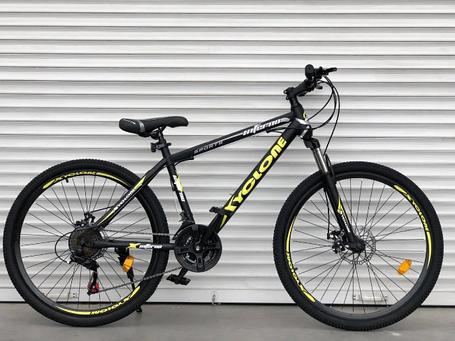 "Горный Велосипед TopRider 26 дюймов""801"" желтый, фото 2"