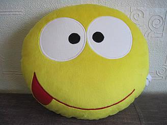 Мягкая игрушка - подушка смайл ручная работа