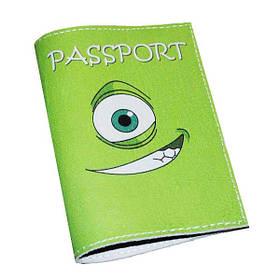 Обложка для паспорта Монстрик