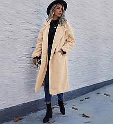 Пальто женское из искусственного меха Milky Berni Fashion (S)