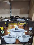 Набір каструль для кухні German Family GF-2053 (6 предметів), фото 5
