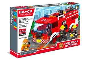 Конструктор Пожарная Охрана IBLOCK PL-920-126