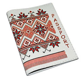 Обложка для паспорта Украинская вышивка