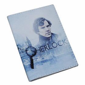 Обложка для паспорт Шерлок