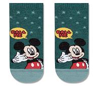 """Шкарпетки дитячі """"Disney"""" (короткі) 17С-127СПМ р.18 351 темно-бірюзовий"""