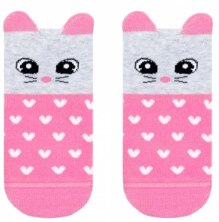 """Шкарпетки дитячі """"Tip-top"""" 17С-59СП р. 14 321 світло-рожевий"""
