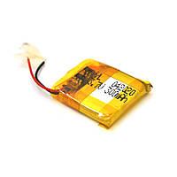 Литий-полимерный аккумулятор 4*20*20mm (Li-ion 3.7В 300мА·ч)
