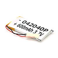 Литий-полимерный аккумулятор 4*20*40mm (Li-ion 3.7В 240мА·ч)