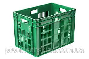 Ящик пластиковый 600*400*420  цветной/втор.