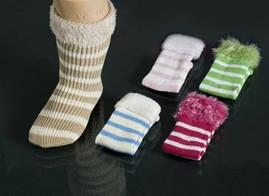 Носки полоска вязка Yumese