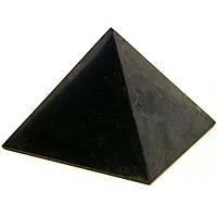 Шунгитовый гармонизатор Пирамида 80x80мм 300г
