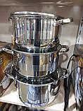 Набір каструль для кухні German Family GF-2053 (6 предметів), фото 3