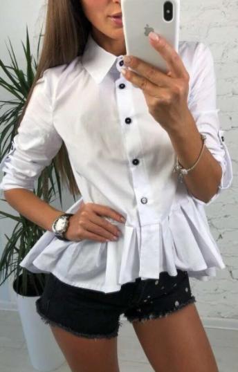 Жіноча сорочка Lili white