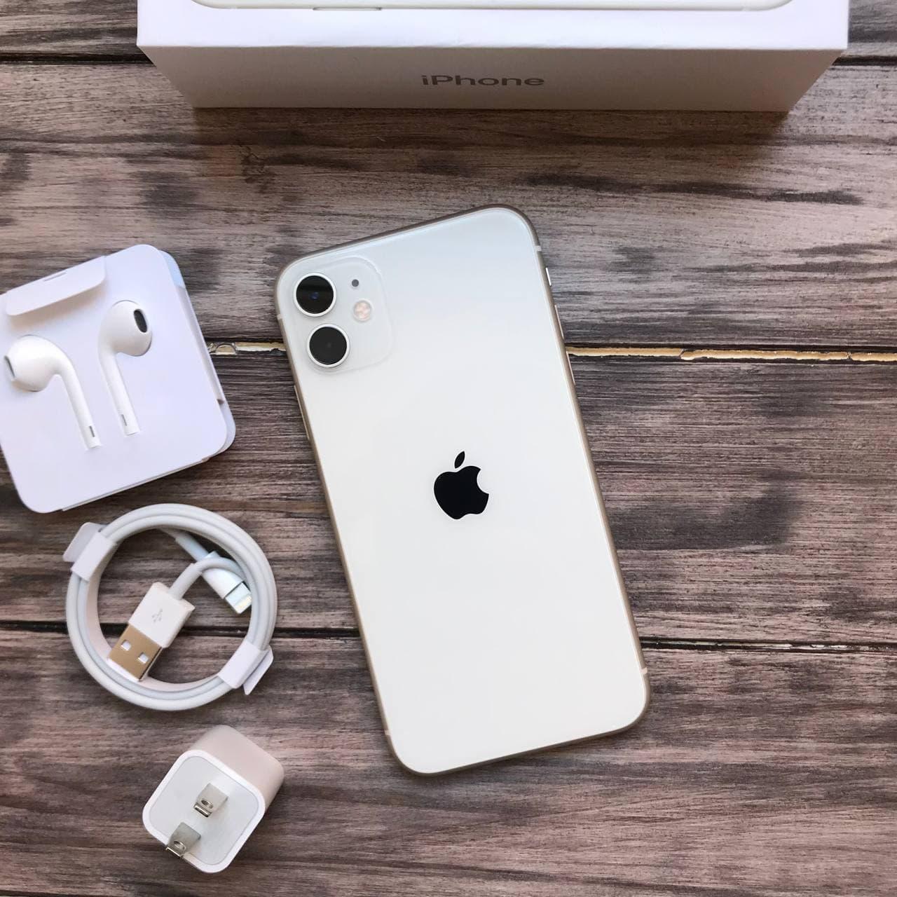 Телефон Apple iPhone 11 White,Білий