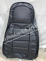 Автомобильные чехлы модельные на ВАЗ 2111 2112 фирмы Пилот Pilot авточехлы на сиденья черные экокожа