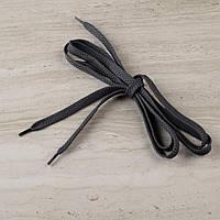 Шнурки обувные 1 пара 100см серые темные (56274.002)