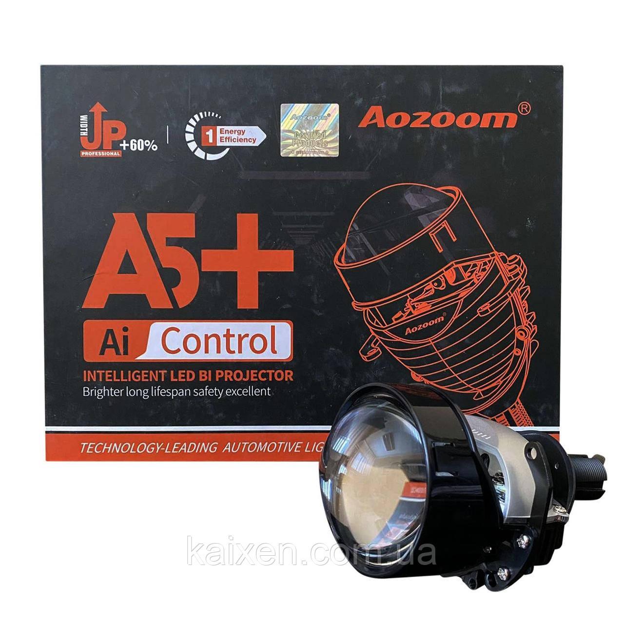Светодиодные bi-led линзы Aozoom A5+ 2,5 дюйма