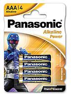 Батарейки  Panasonic LR03 Alkaline Power PR (Power Rangers) 1x4 шт. AAA