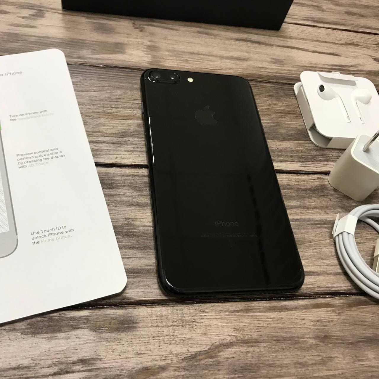Телефон Apple iPhone 7 Plus Jet Black,Черный