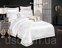 Комплект постельного белья из жаккарда love you евро 1-42