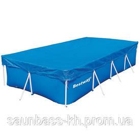 Покрытие Bestway 58107 для бассейнов 4.00x2.11 м (410х226 см)