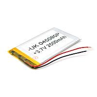 Литий-полимерный аккумулятор 4*50*80mm (Li-ion 3.7В 2500мА·ч)