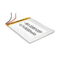 Литий-полимерный аккумулятор 3.5*95*105mm (Li-ion 3.7В 5000мА·ч)