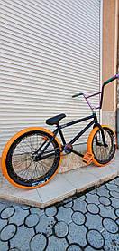 Велосипед ТОПОВЫЙ КАСТОМ BMX OKRUG