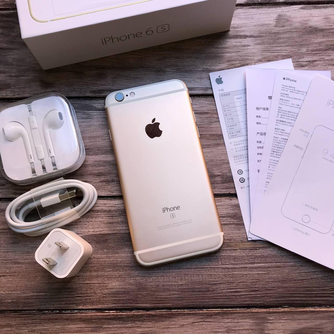 Телефон Apple iPhone 6S Gold,Золотой