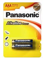 Батарейки Panasonic LR03 Alkaline Power(Bronze) 1x2 шт. AAA