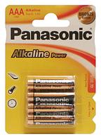 Батарейки Panasonic LR03 Alkaline Power(Bronze) 1x4 шт. AAA