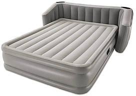 Кровать надувная двуспальная Bestway 67620 со встроенным электронасосом