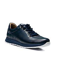Мужские кожаные туфли Bumer, Синие