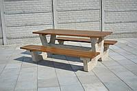 """Комплект """"Гарден"""",столы садовые,скамейки садовые,садовая мебель,столы уличные,скамейки уличные,уличная мебель."""