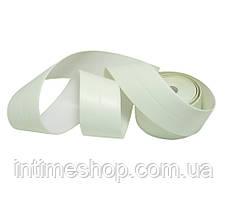 Самоклеящаяся бордюрна стрічка для ванної 3.2 метра, світло салатова, клейка стрічка для ванни і кухні