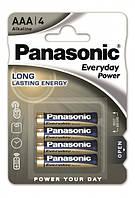 Батарейки Panasonic LR03 Everyday Power 1x4 шт. AAA