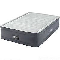 Кровать надувная Intex 64904 со встроенным электронасосом