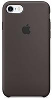Чехол для iPhone 7/8/ iPhone SE 2020 Silicone Case бампер (Coffee), фото 1