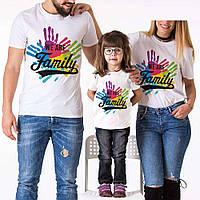 """Футболки Фемілі Лук Family Look для всієї родини """"crew"""" Push IT"""