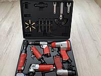 Набор пневмоинструментов LEX LXATK24 / 24 ед. в кейсе