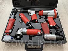 Набор пневмоинструментов LEX LXATK24 / 24 ед. в кейсе, фото 3