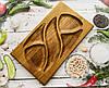 Деревянная доска для подачи блюд , 41х24
