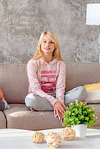 Детские спортивные штаны для девочки BRUMS Италия 173MGBM015 Серый весеннии осенью демисезонные